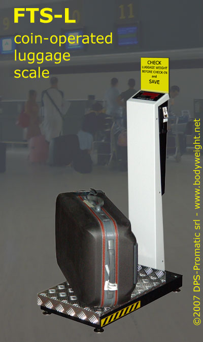 FTS-L coin-operated luggage scale