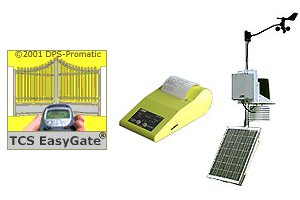 GSM gate opener, SMS printer, gsm/gprs autonomous weather station